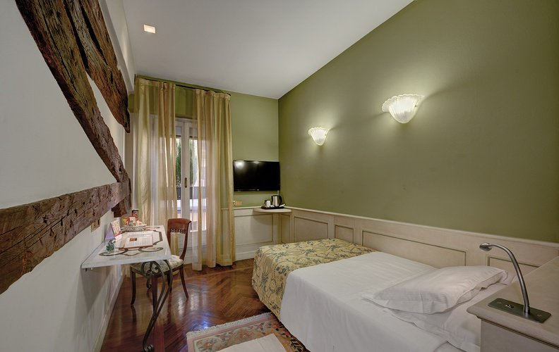 Einzelzimmer art hotel commercianti bologna