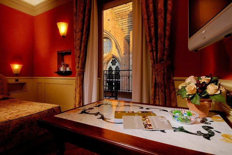 Zimmer  art hotel commercianti bologna