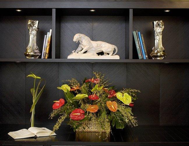 Gemeinschaftsräume  art hotel novecento bologna, italia