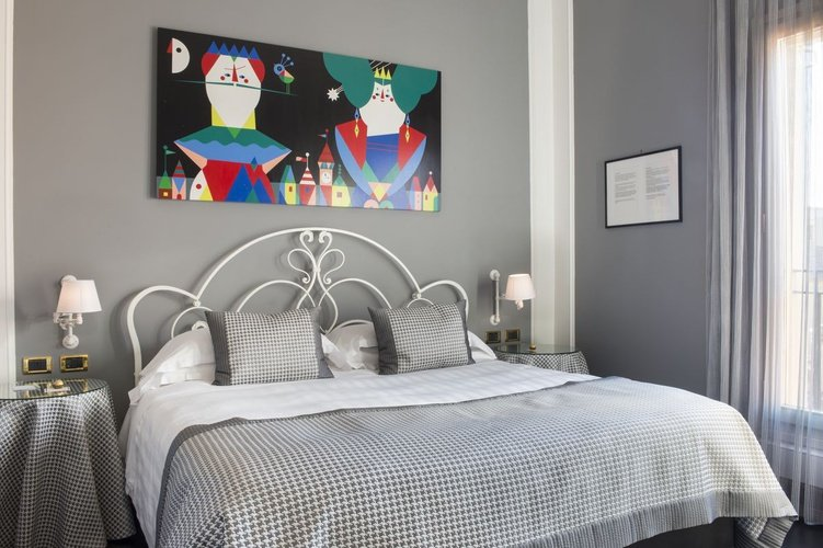 Zimmer art hotel orologio bologna