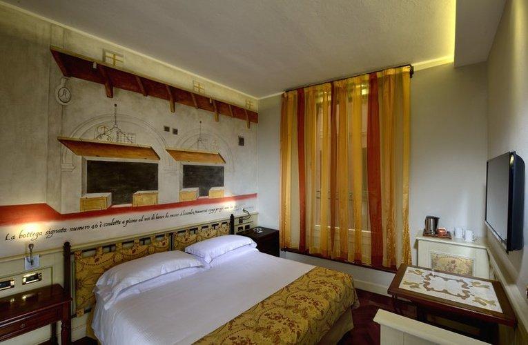 Classic-doppelzimmer art hotel commercianti bologna