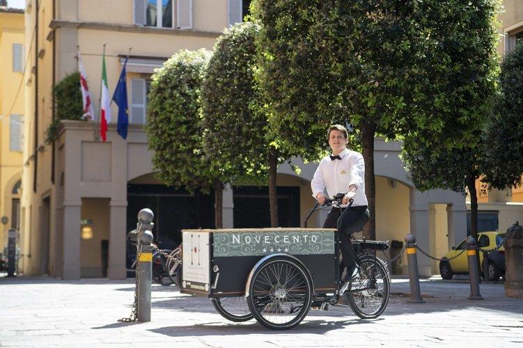 Ausstattung  art hotel novecento bologna, italia