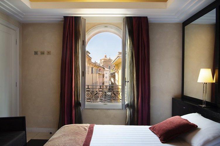 Doppelzimmer  art hotel novecento bologna, italia