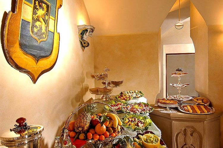 Frühstücksbüffet  art hotel commercianti bologna