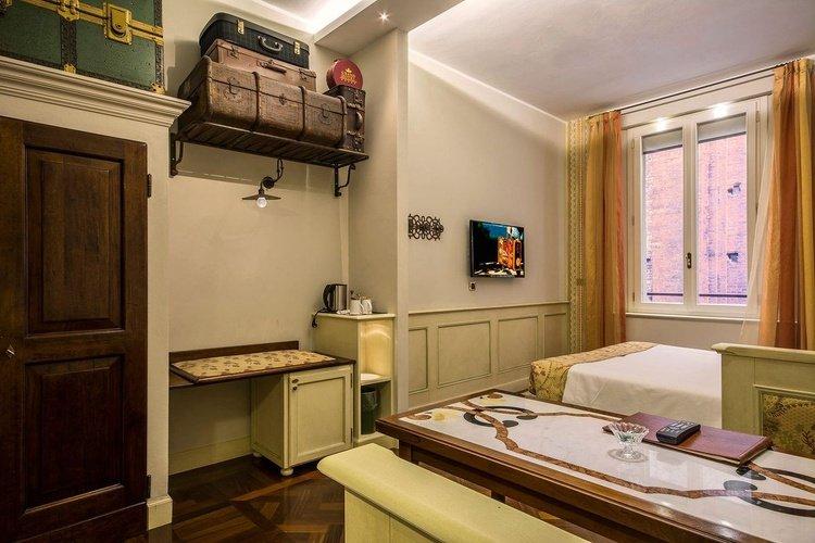 Standardzimmer art hotel commercianti bologna