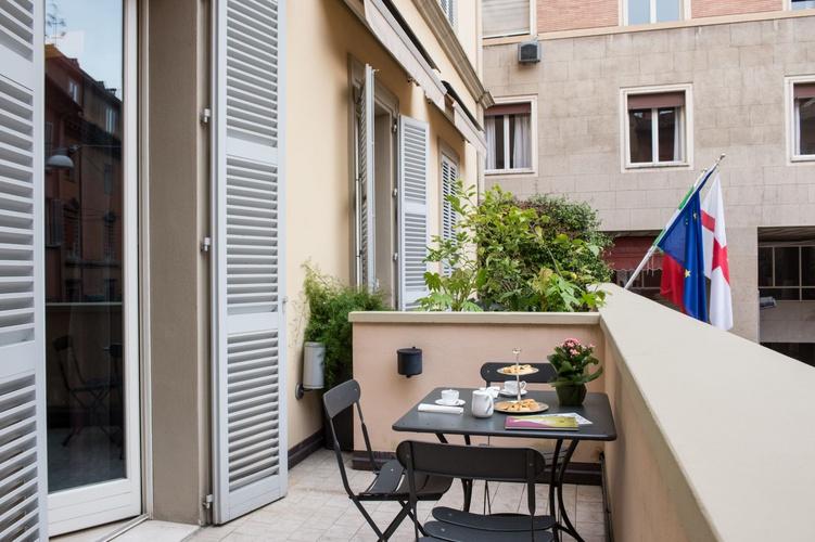 Terrasse  art hotel novecento bologna