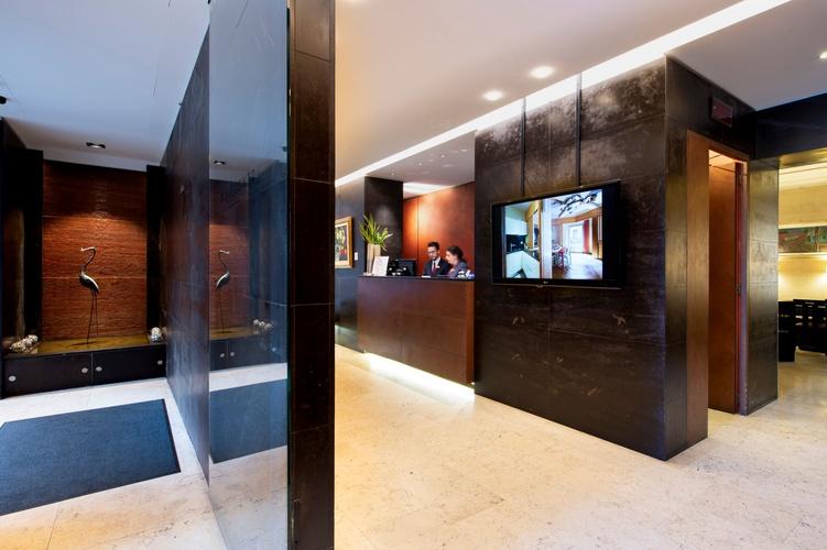 Rezeption  art hotel novecento bologna
