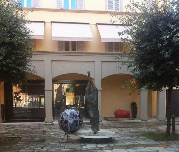 Eingang  Art Hotel Novecento Bologna, Italia